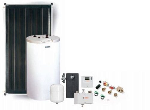 Solar Thermal Package BOSCH with 120 l cylinder