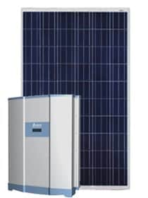 50kW Solar PV Package Trina Poly Panels with Delta50