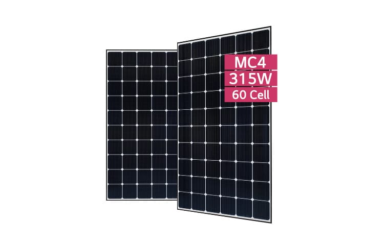 solar pv panel lg 315w mono neon 2 lg315n1c g4. Black Bedroom Furniture Sets. Home Design Ideas