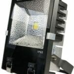 A LED Inspilight LED outdoor floodlight 120W cool white IP65