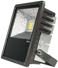 A LED Inspilight LED outdoor floodlight 60W cool white IP65