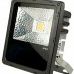A LED outdoor floodlight 25W cool white IP65