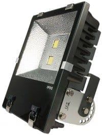 ALED Inspilight LED outdoor floodlight 180W warm white IP65