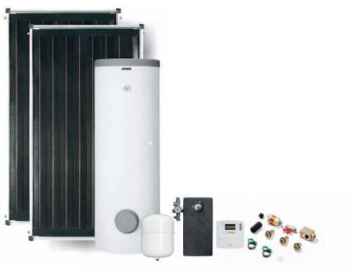 SOLAR Thermal Package BOSCH FCC COMFORT with 300 l cylinder