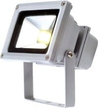 Inspilight Outdoor Strahler LED Floodlights, 10 Watt cool white