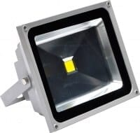 Inspilight Outdoor Strahler LED floodlights, 50 Watt warm white