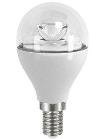 LED Bulb E14 6W 470lm 2700K Non-Dimmable gl by ZEROhomebills