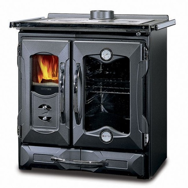 la nordica cooker stove suprema nero black off grid heating