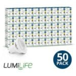 5W GU10 LED Spotlight 50W Replacement 2700K Warm White 50Pack