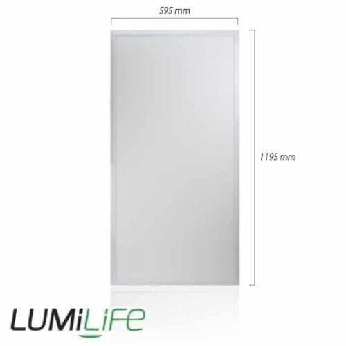 60W LED Panel - 595x1195mm - IP40 - Optional Dimmable Driver and Bracket 2