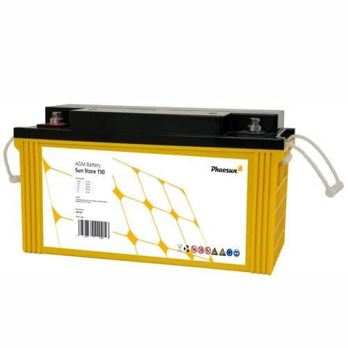 AGM Battery Phaesun Sun Store 165 Maintenance Free 177 Ah
