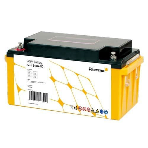 AGM Battery Phaesun Sun Store 85 Maintenance Free 88 Ah