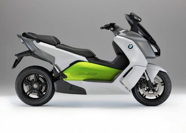 Bmw C Evolution Electric Motorcycle Side
