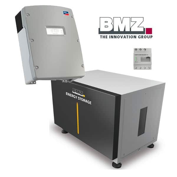 Bmz Ess 21 0 Modular Energy Storage System With Sma Si 6 0 Bmz