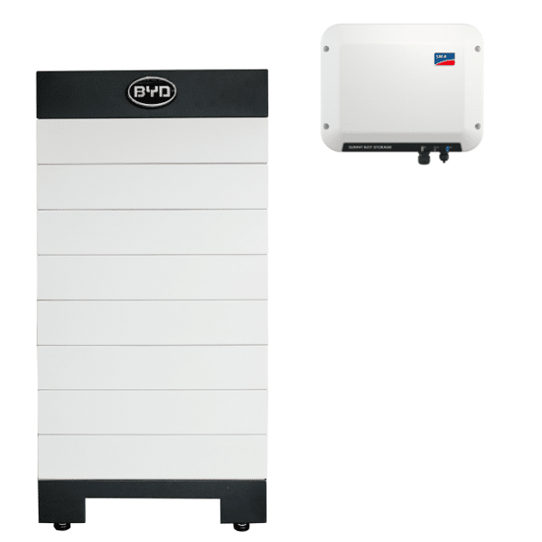Byd High Voltage B Box H 10 2 Battery Storage With Sma