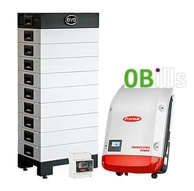 BYD with Fronius battery storage system kits