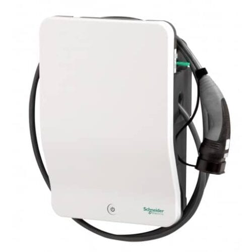 EVlink 2 Schneider 22kw EV Charger With Attached Cable & Type 2 Plug