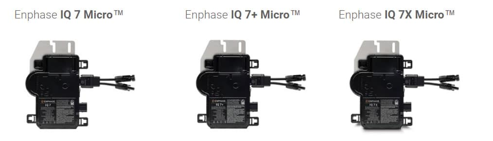 Enphase-iq-7-microinverters
