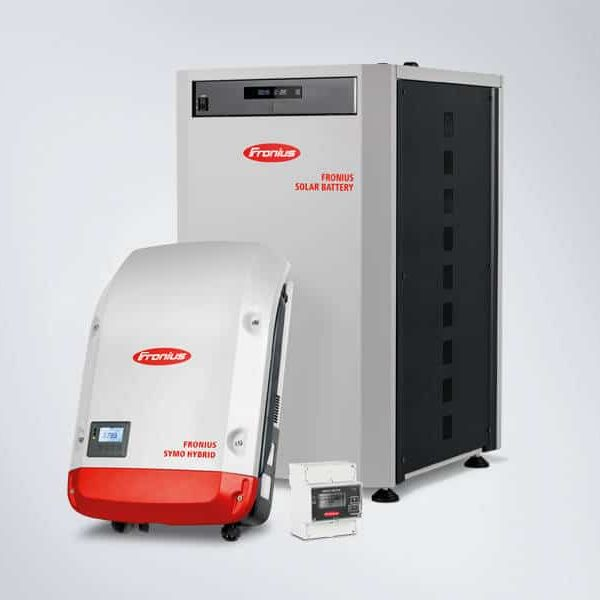 fronius solar battery package 12kw with fronius symo hybrid. Black Bedroom Furniture Sets. Home Design Ideas