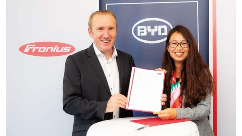 Fronius and BYD Energy Storage Systems