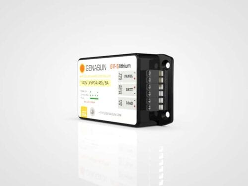 GENASUN GV-5 65W 5A MPPT Solar Charge Controller for Li-Ion Batteries on zerohomebills.com by solaranna 2