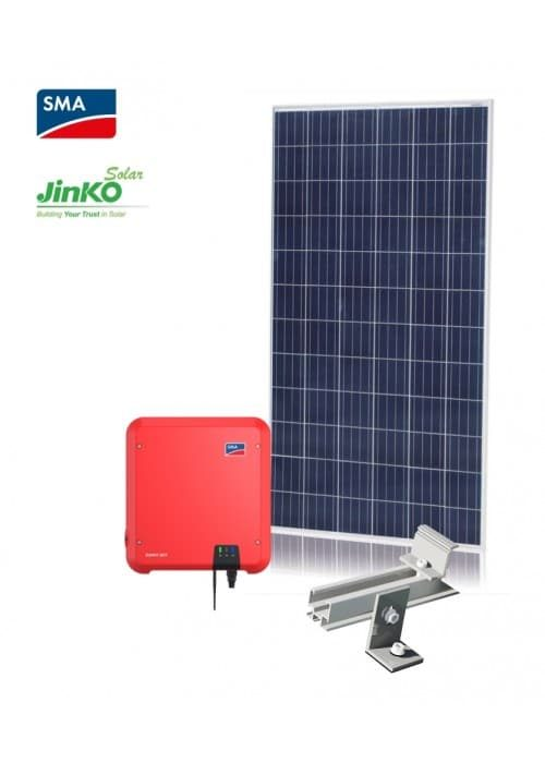 Grid Tied 5 2kw Diy Solar Kit With Sma And Jinko Solar Panels