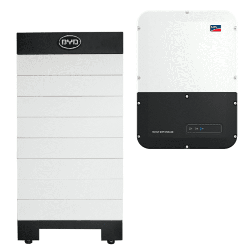 High Voltage BYD B-Box H 10.2 Battery Storage with SMA Storage 3.7