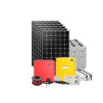 Hybrid 15kW solar kit with battery storage w. SMA and IBC solar panels