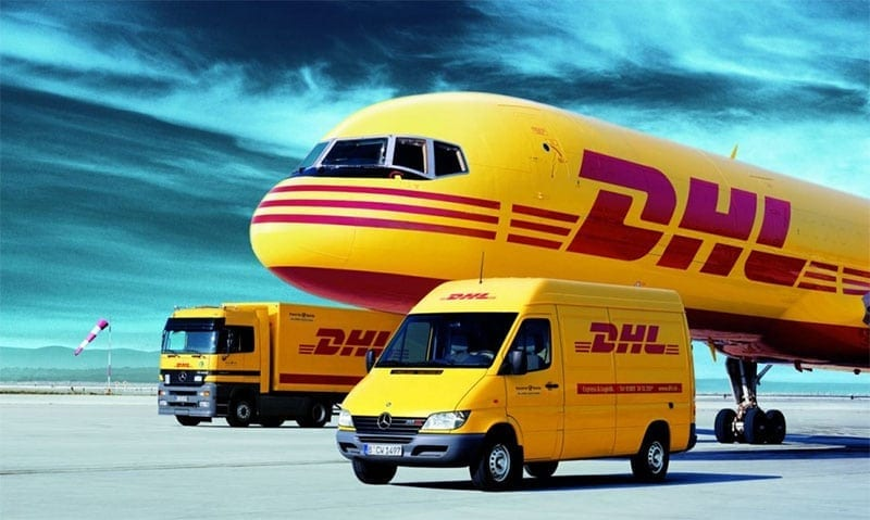 It is official  DHL and DB Schenker are the Logistics