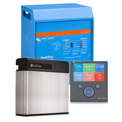 LG CHEM RESU Energy Storage 6.5kW with Victron Package