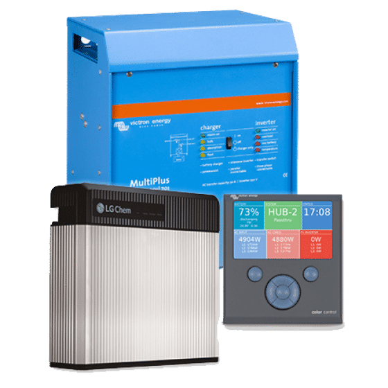 LG CHEM RESU Energy Storage 6 5kW with Victron Package