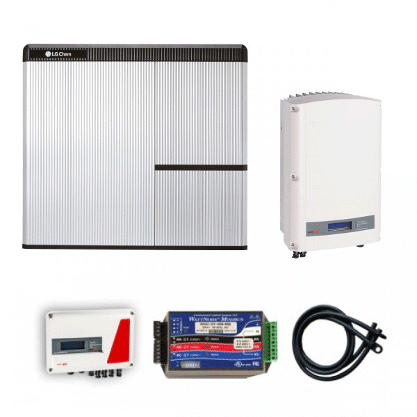 lg resu 10h 3 phase 10kw battery storage with storedge and solaredge se 5000 zerohomebills