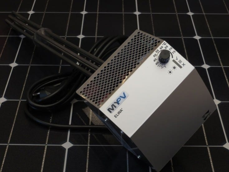 MY-PV PRESENTS SMART WATER BATTERY FOR HOMES