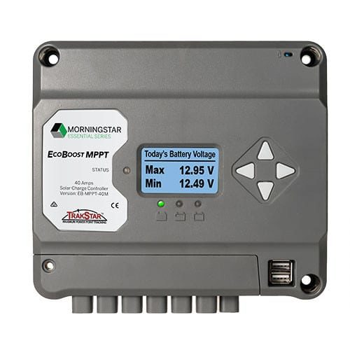 Morningstar EcoBoost EB-MPPT-30M 12/24V 30A Solar Charge Controller