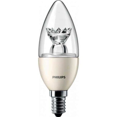PHILIPS MASTER LEDCANDLE D 4-25W E14 827 B35 CL