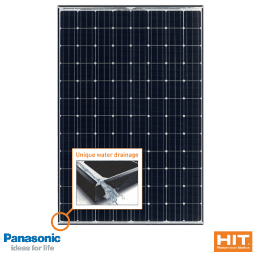 Panasonic Hit N 330w Solar Panel Vbhn330sj47 Panasonic Solar