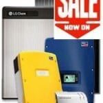ALL in ONE LG CHEM RESU Energy Storage with Solar PV Package 6.5kW