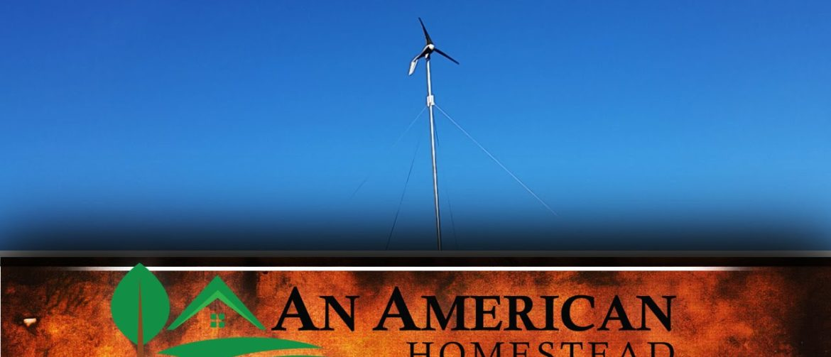 Primus Wind Turbine Install - DIY by American Homestead