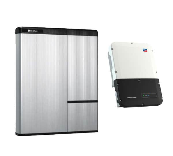 SMA Sunny Boy Storage 5 0 with LG Chem RESU 10H - 10kW Energy Storage System