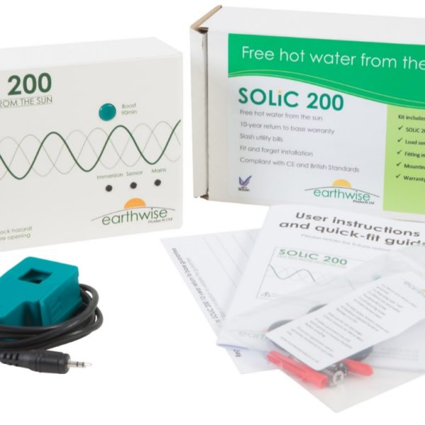 Solic200 Solar Immersion Heater Controller Domestic Hot Water