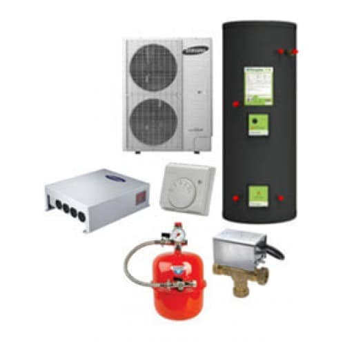 Samsung heating and hot water 5kw heat pump system for Best heating source for home