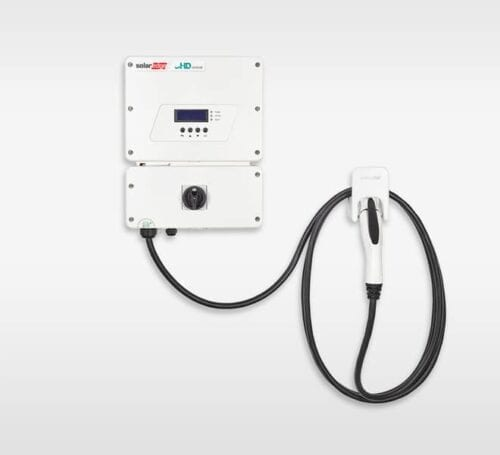 SolarEdge SE3800H-US HD WAVE Solar Inverter Integrated EV Charger