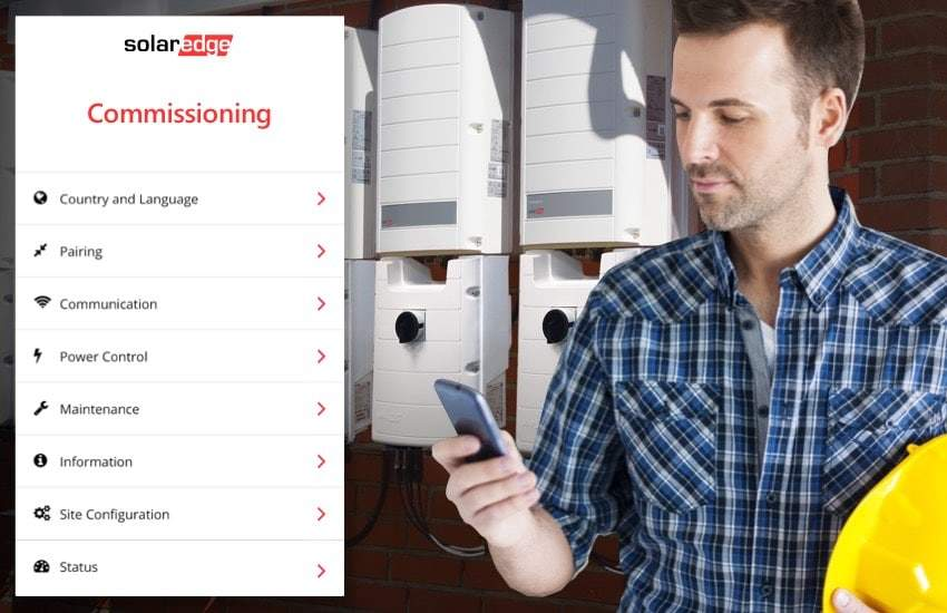 SolarEdge SetApp: Easy Inverter Commissioning From Your Smartphone