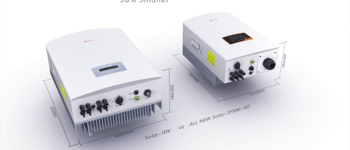 Solis 4g Dual Tracker Single Phase Inverters