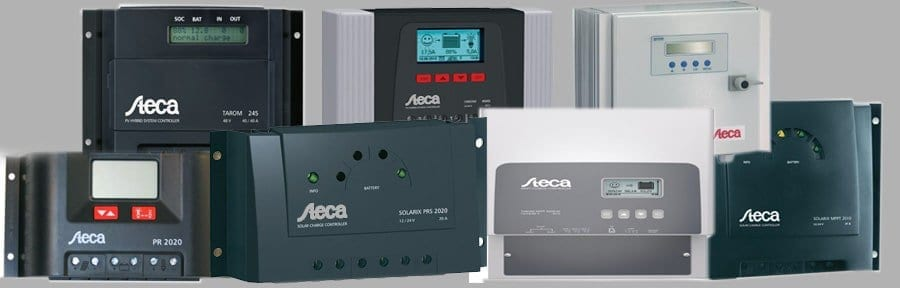 Steca charge controllers and off-grid systems