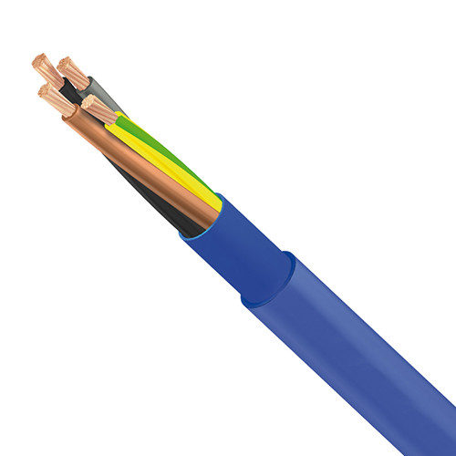 Submersible Pump Cable 4G 2.5 mm² Blue