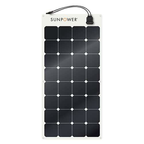 SunPower SPR-E-Flex 110 W Flexible Solar Panel