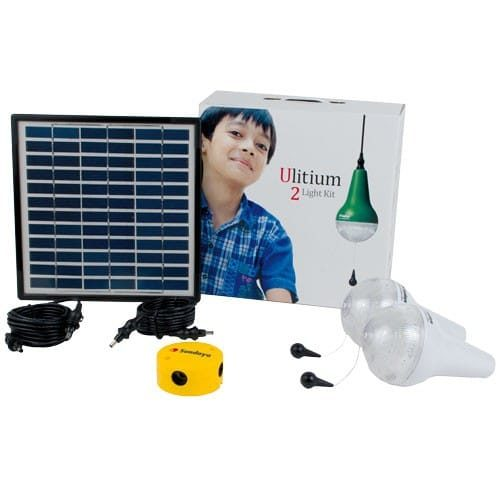 Sundaya 2 Ulitium 200 Solar Light Kit White