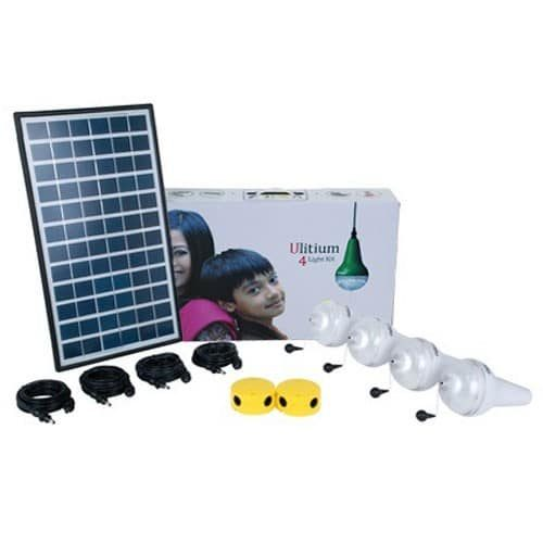 Sundaya 4 Ulitium 200 Solar Light Kit White