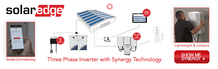 Commercial Solar Inverters: SolarEdge 3Ph with Synergy Technology